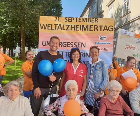 Flash Mob Weltalzheimertag 2019