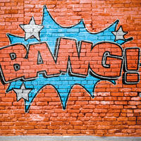 "Graffiti ""Bang!"""